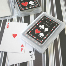 50 Two of a Kind Playing CARDS Vegas Bridal Wedding Favor (personalized ... - $90.20