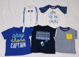 First Impression Baby Boys Printed T-Shirts Size 3-6M, 12M, 18M - $11.99
