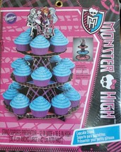 Wilton Monster High Cupcake & Treat Stand - New In Package - Ships Free! - $14.50