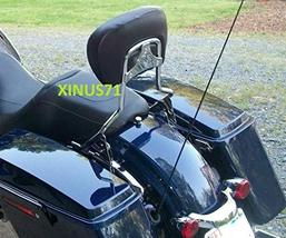 JMEI Detachable Backrest Sissy Bar For Harley Touring Street Glide Road Glide 09 - $115.64