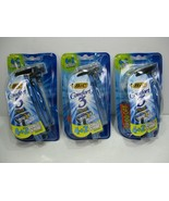 3 BIC Comfort 3 Pivot Razors 18 Total Sensitive Skin Dual Strip - $14.99