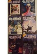 QUESTAR Magazine 6 ISSUE LOT 1980-81 Science Fiction Fantasy VTG - $29.69