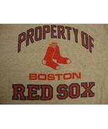 Vtg Boston Red Sox Youth Gray T shirt Sz L 14/16 - $15.83