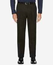 Perry Ellis Men's Classic Fit Elastic Waist Double Pleated Cuffed Pant,  32 x 29 - $24.86
