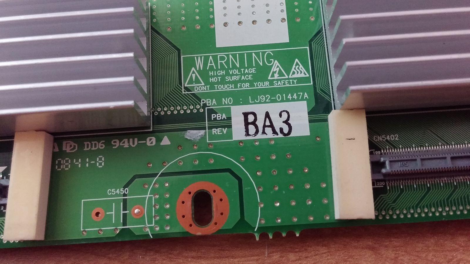Samsung BN96-05643A (LJ92-01447A) Upper Y Scan Drive