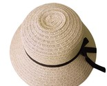 Or women summer visor hat floppy foldable ladies straw beach wide brim hats d90425 thumb155 crop