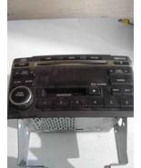 02-03 NISSAN MAXIMA RADIO RECEIVER 6 DISC CASSETTE CR070 OEM BOSE - $62.89