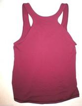 Womens Lululemon Tank Top Hot Yoga 10 Pilates NWT New Dark Red Workout F... - $49.60