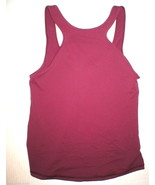 Womens Lululemon Tank Top Hot Yoga 10 Pilates NWT New Dark Red Workout F... - $37.20
