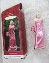 Hallmark Keepsake Marilyn Monroe 1st Collector's Series Xmas ORNAMENT-1997 - Nib - $29.77
