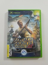 Medal of Honor Rising Sun Xbox Game 2003 EA Games Complete - $10.62