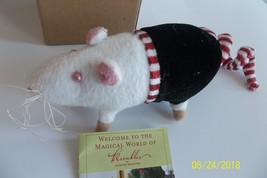 Krinkles Patience Brewster RATS Wire RETIRED 2007 Dept 56 Black Yellow H... - £23.24 GBP