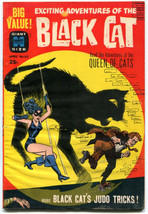 Black Cat 65 VG 4.0 Volume 2 1963 Harvey Giant Size Last Issue - $39.59