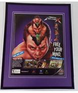 Freestyle MetalX 2003 PS2 Xbox Framed 11x14 ORIGINAL Vintage Advertisement - $34.64