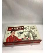 Gilbert Erector Set 10074-Ferris Wheel Kit 1959-1960 Vintage Toy Set Par... - $41.23