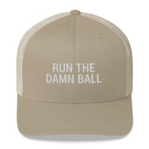 Run the Damn Ball / run the Damn Ball / Trucker Cap image 5