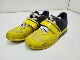Reebok Women's Crossfit CF74 Shoe Yellow / Black Size 8 M215 - $32.07