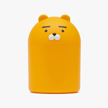 KAKAO FRIENDS Character Mini Trash Can Wastebasket Rubbish Bin RYAN - $24.74
