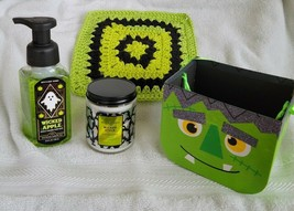 4 Pc Candle & Hand Soap Halloween Set – Brand new & Factory Sealed (Bath... - $20.00