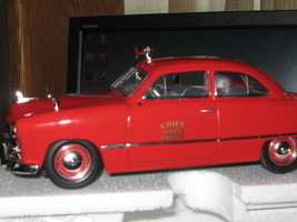 Fdny By First Gear 1949 Ford Marine Division Chief-FREE Shipping - $43.00
