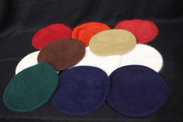Lot Of 11 ARIS Angora Berets, Multi-Color, OSFA, USA-B96 - $135.00