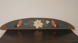 butterfly wood decor, butterfly picture, butterfly decor, butterfly wall... - $25.00