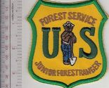 usfs junior forest ranger patch us forest service usfs green on yellow patch 9.99 thumb155 crop