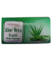PATANJALI ALOE VERA KANTI BODY CLEANSER SOAP BAR - 100gm - $9.99