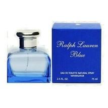Ralph Lauren Blue Women's  - 2.5 / 2.6 oz / 75 ml EDT Spray New In Box - $69.99