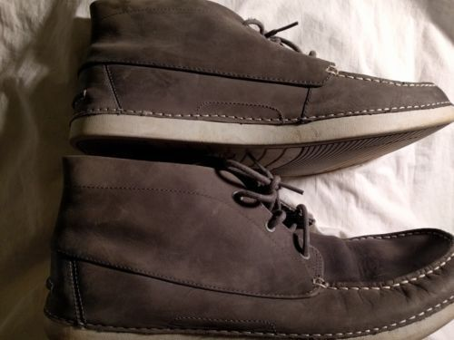 UGG Australia Gray Suede Chukka Ankle Boots Shoes Men's 14