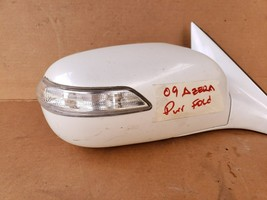 07-09 Hyundai Azera Door Wing Mirror Turn Signal Pwr Fold Passgr Right RH 12wire image 2