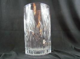 "Mikasa Ellipse Vase 12"" Lead Crystal Czech Republic - $37.04"