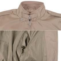Men's Athletic Lightweight Water Resistant Slim Fit Racer Jacket image 5