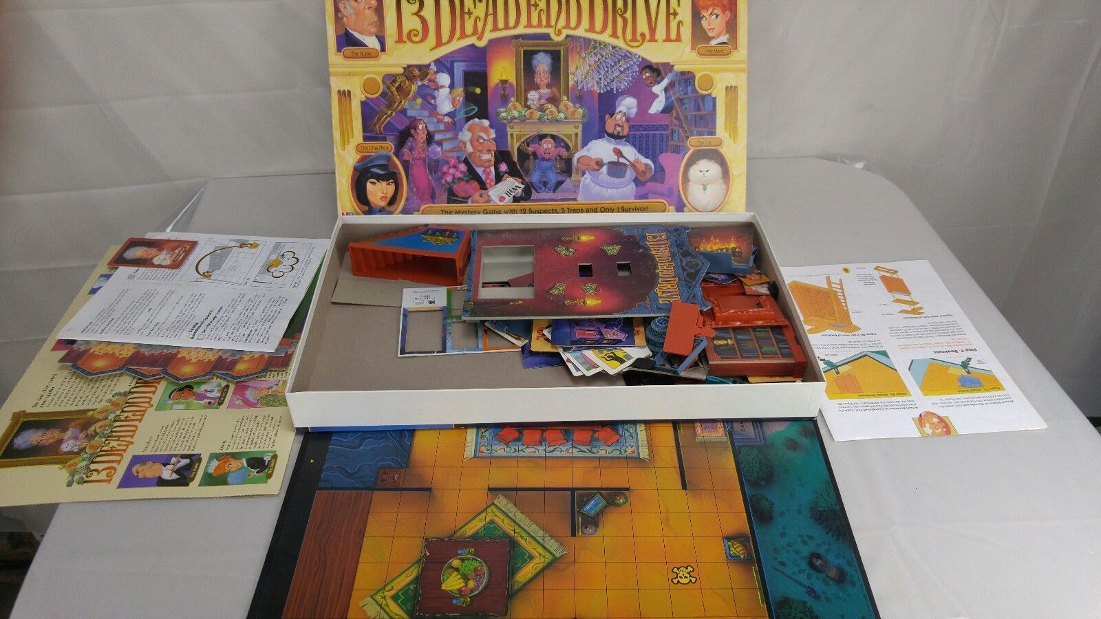 Primary image for 13 Dead End Drive Board Game Milton Bradley