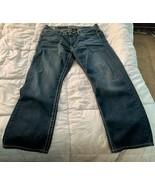 Request Jeans Mens 36 x 30 Denim Blue  - $15.83