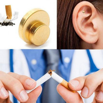 New Quit Stop Smoking Ear Magnet Cigarettes Magnetic ear Acupressure Zero Smoke - $5.28