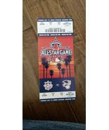 2010 Baseball Tout Star Jeu Complet Billet Los Angeles Host Anaheim Stadum - $49.91