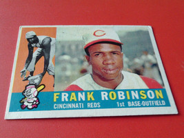 1960  TOPPS  # 490   FRANK  ROBINSON    ROUGH  FRONT  SURFACE   !! - $19.99