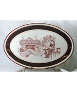 Grassland Road Seasons Of Wonder Makin A List Oval Platter - $25.19