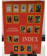 National Geographic Society Index 1947-1976 Picture History Research Awards - $8.86