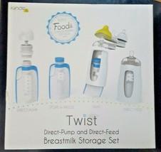 Kiinde Twist Direct Pump Direct Feed Breastmilk Storage Set Feeding Gift... - $29.65