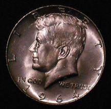 BU 1964-P Silver Kennedy Half Dollar. Very Nice. Free Shipping!!!!!!!!!!!! - $12.13