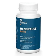 Dr Tobias Menopause Relief - Black Cohosh - Hormone Support & Hot Flash Relief 6