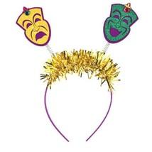 Mardi Gras Head Bopper HeadBopper Headband Comedy Tragedy Masks - $5.12