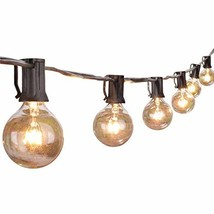 Globe String Lights with G40 Clear Bulbs- UL Listed for Commercial Use, ... - $80.01