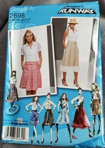 Simplicity 2698 Skirts With Yoke Length Variations Womans 4 6 8 10 12 UNCUT - $7.68