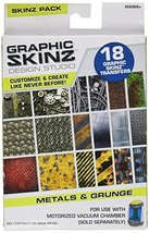 RoseArt Graphic Skinz Transfers Refill Metals and Grunge Toy - $0.01