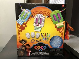 Disney / Pixar Coco Calavera Mask Garland Kit Includes Paint Beads Paper... - $9.49