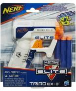 Nerf - A1690 - N Strike Elite Triad Ex-3 Toy Blaster W/3 Darts  - $16.78