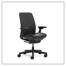 Steelcase Amia(R) Ergonomic Work Chair by Steelcase, Fabric = Elmosoft Ebony; Fr - $1,051.00